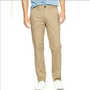 NWT GAPKhakis Straight Stretch Khakis. Size 40/32